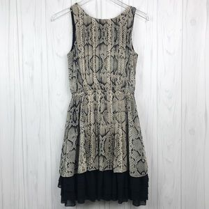 Jessica Simpson • Snake Print Sleeveless Dress